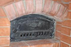 """Банная отопительная печь """"по серому""""с отопительным щитком"""