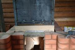 Банная печь каменка №64
