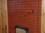 """Двухконтурная банная печь """"по серому"""" с конвекционными каналами и дополнительным оключаемым отопительным щитком на 2 этаже #54"""