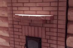 """Двухконтурная банная печь """"по серому"""" с водяным баком и конвекционными каналами"""