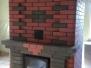 Двусторонний теплоемкий камин с хлебной камерой для больших помещений #31