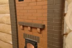 Банная печь каменка 65