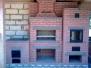 Линейный комплекс барбекю на открытой веранде #74