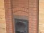 Монтаж железной банной печи с декоративным фасадом #55