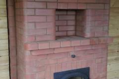 Отопительная печь под камин