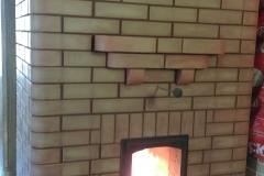Отопительная печь с максимальный зеркалом теплоотдачи