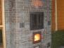 Отопительно-варочная печь для больших помещений с духовым шкафом #07
