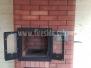 Отопительно-варочная печь с духовым шкафом #111