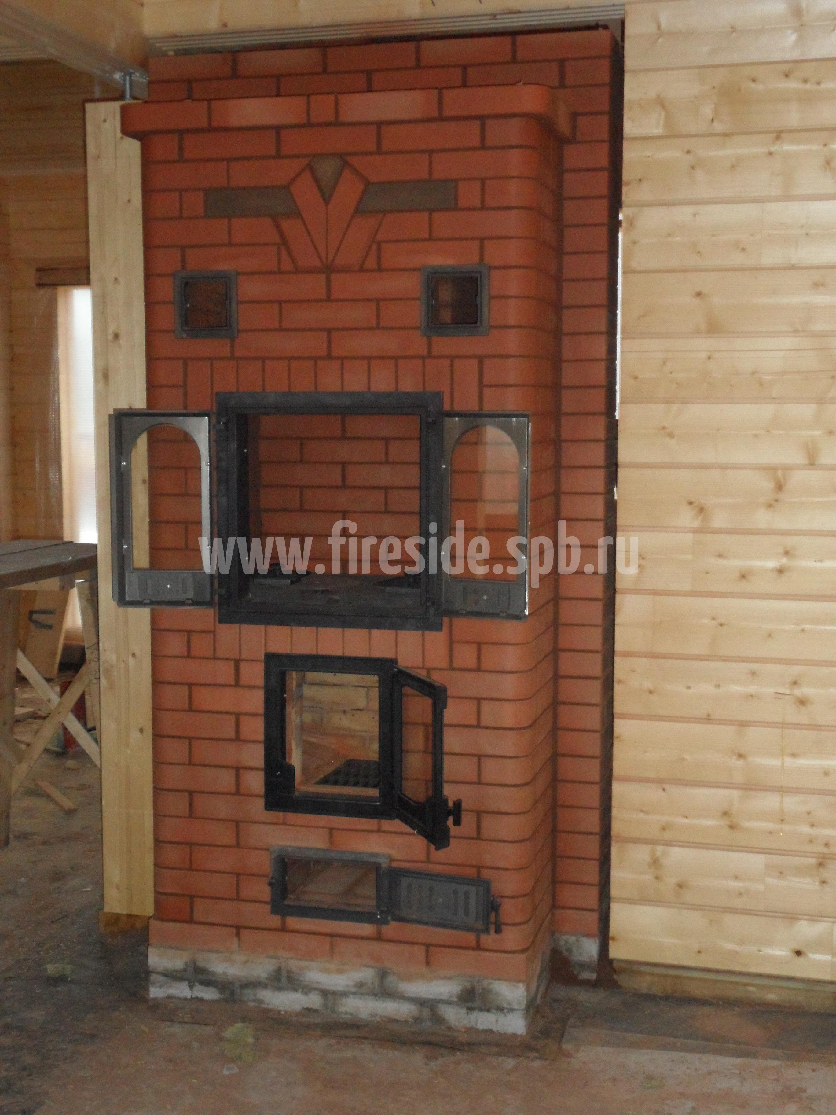 Печка столбянка
