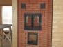 Отопительно-варочная печь с духовым шкафом и духовкой #08