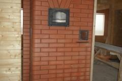 Отопительно-варочная печь с духовым шкафом и духовкой