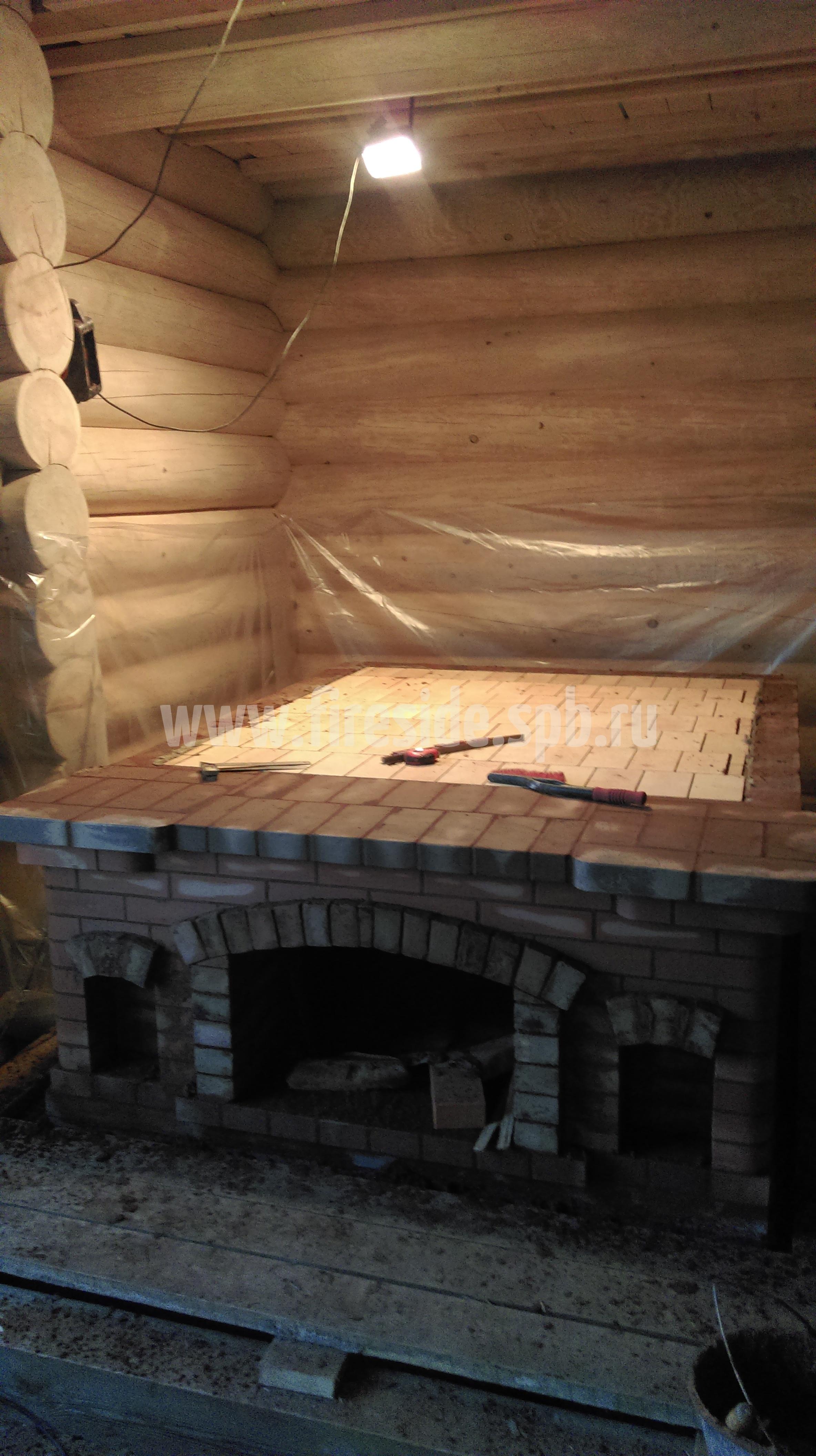 Печь в баню печь по белому
