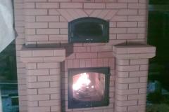 Теплоемкий камин для больших помещений