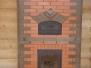 Теплоемкий камин с хлебной камерой для больших помещений #41
